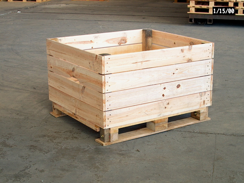 Apple Storage Box Type A 4 Way Entry Pallet